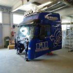 Kabina VOLVO lakiernia i blacharnia Janisz Uslugi Samochodowe 012